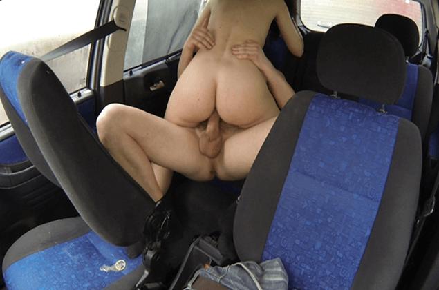 Geiles Amateur Fickbild vom Nuttensex am Parkplatz